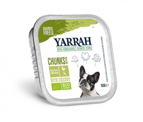 Yarrah Bröckchen Huhn & Gemüse