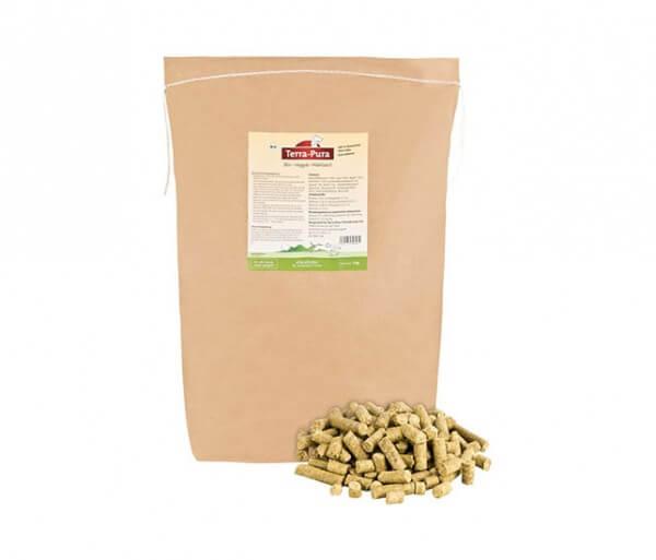 Terra Pura Veggie-Mahlzeit kaltgepresstes vegetarische Bio-Alleinfutter für Hunde