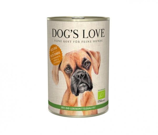Dog's Love PUTE, Amaranth, Kürbis & Petersilie