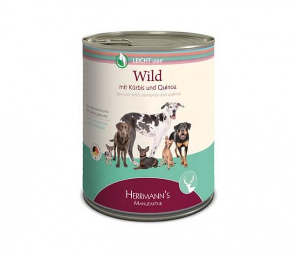 Herrmanns Leichte Menüs Wild mit Bio-Kürbis & Bio-Quinoa