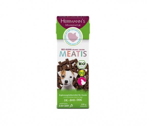 Herrmanns Meatis Bio-Huhn für den Hund