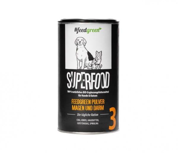 FeedGreen Superfood Pulver (3) für Magen & Darm