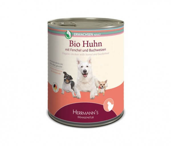 Herrmanns Huhn mit Fenchel, Zucchini und Buchweizen
