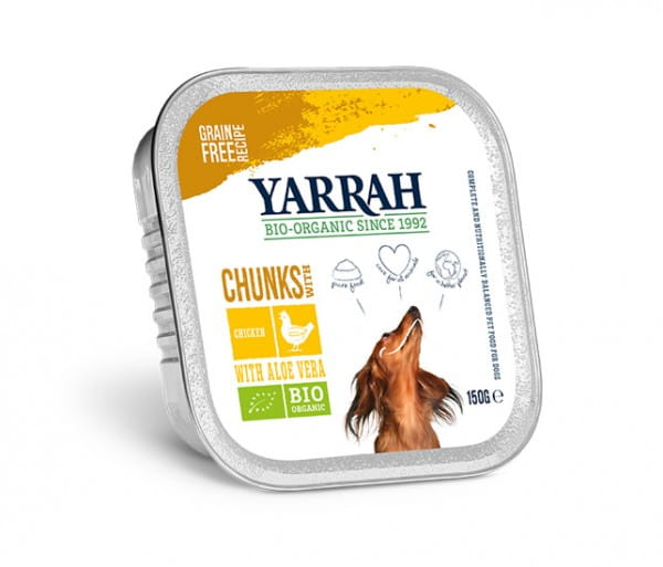 Yarrah Bröckchen Huhn mit Aloe Vera