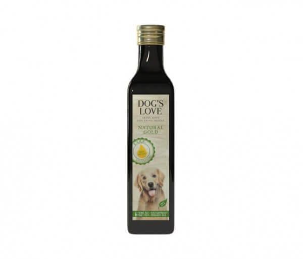 Dog's Love Natural Gold Bio Öl kaltgepresst für Hunde kaufen