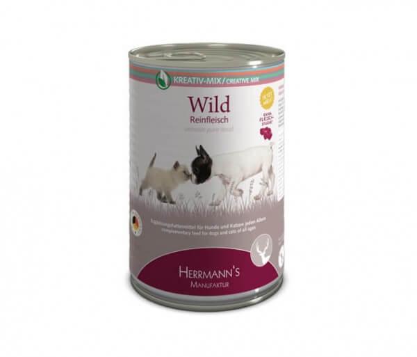 Herrmanns Wild (Reinfleisch)