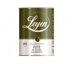 Leyen Pute mit Zucchini und Amaranth