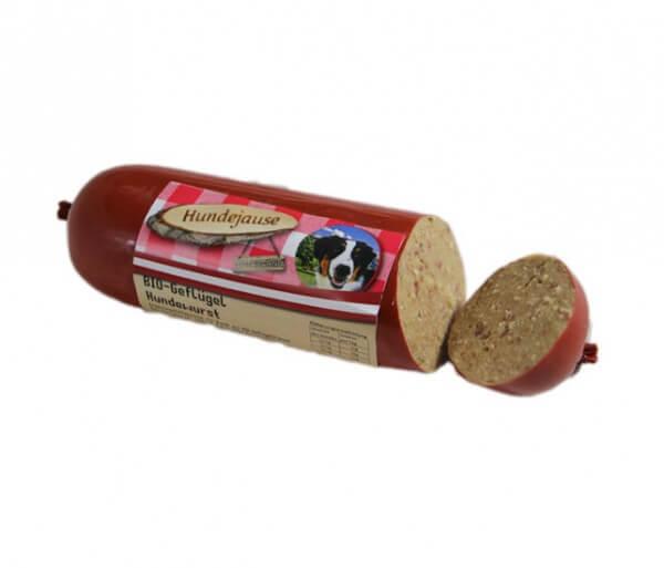 Hundejause Geflügelwurst
