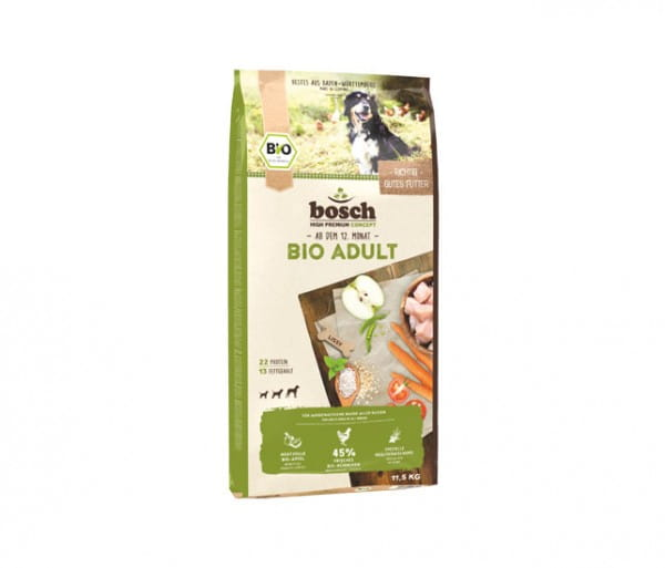 Biobosch Adult Hühnchen + Apfel