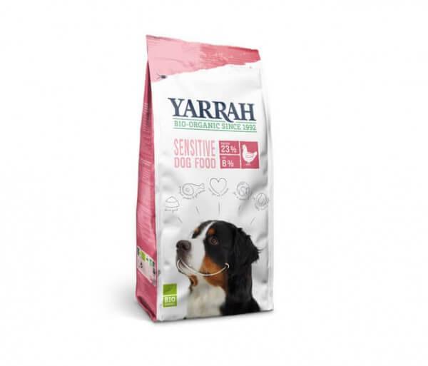 Yarrah Adult Sensitive Glutenfreies Bio Trockenfutter mit Huhn & Reis