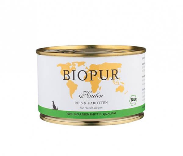 Biopur Welpe Huhn, Reis & Karotten