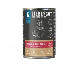 Liebesgut Kaninchen mit BIO Gemüse und BIO Obst (Sensitiv für Hunde)