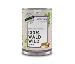 Naftie Wald Wild to Mix 100 % Wildfleisch für Hunde, Reinfleisch von Reh und Rotwild