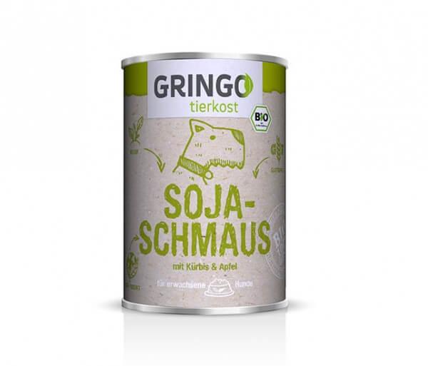Gringo Bio-Soja-Schmaus 100 % BIO veganes Hundefutter in der Dose aus Deutschland kaufen