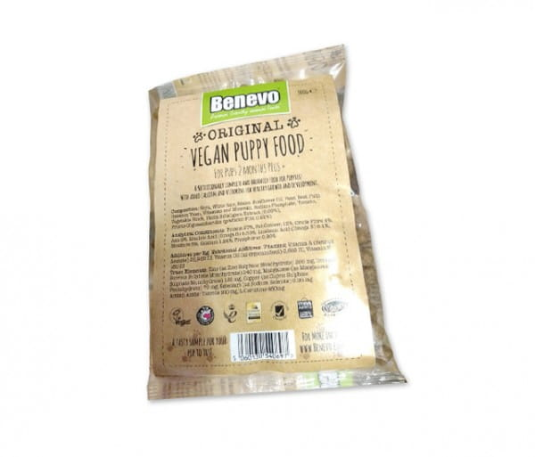 Probe Benevo veganes Trockenfutter