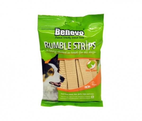 Benevo Rumble Strips vegane Kaustreifen für Hunde / Hundesnack