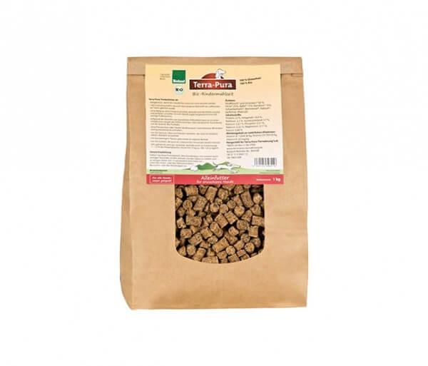 Terra Pura Hundefutter (Trockenfutter) Rindermahlzeit mit 40% Rind