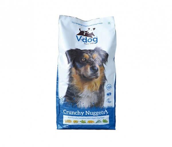 V-Dog vegane Knusprige Brocken für Hunde mit Fleischallergie