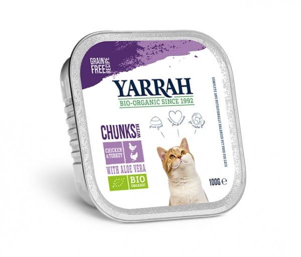 Yarrah Bröckchen Huhn/Truthahn mit Aloe Vera
