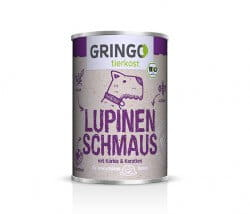 Gringo Lupinen-Schmaus regional produziertes Bio-Hundefutter aus Deutschland Nassfutter ohne Getreide kaufen