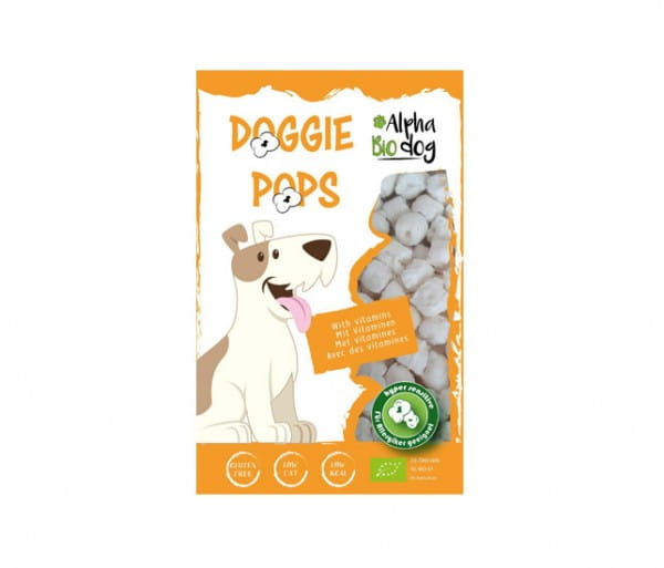 Alpha Bio dog Hundesnack Doggie Pops mit Leber und Vitaminen