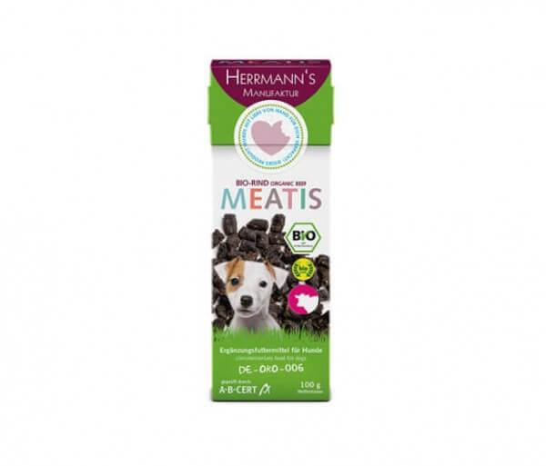 Herrmanns Meatis Bio-Rind für den Hund