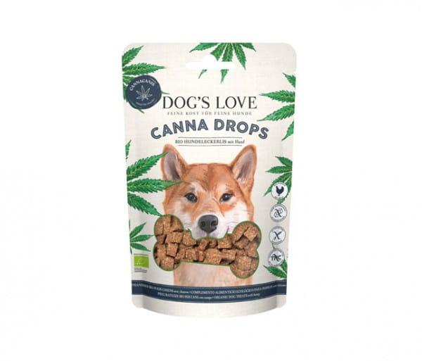 Dog's Love Canna Drops Geflügel Hanf Hundesnack