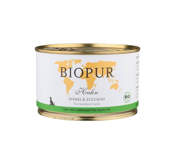Biopur Huhn, Dinkel & Zucchini