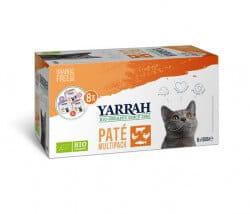 Yarrah Multi-Pack Pate (Katze)