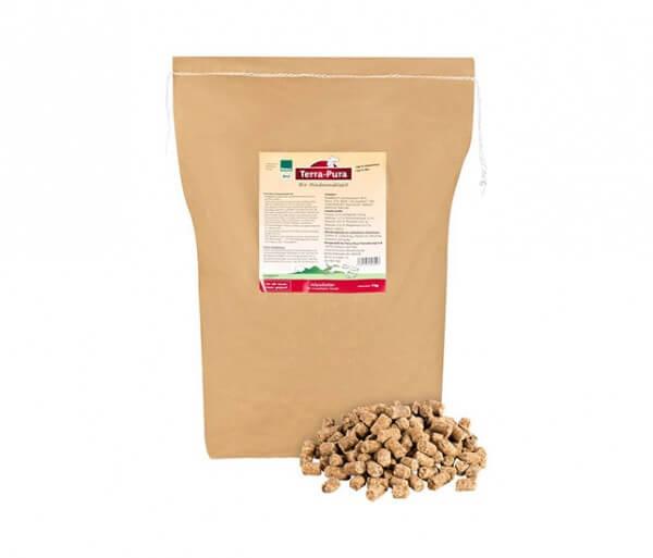 Premium Bio-Hundefutter mit extra viel Fleisch vom Bio-Rind