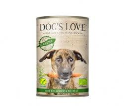 Dog's Love Greens Gartentopf 100 % Bio Gemüse & Obst Mix Dose Hundenassfutter kaufen