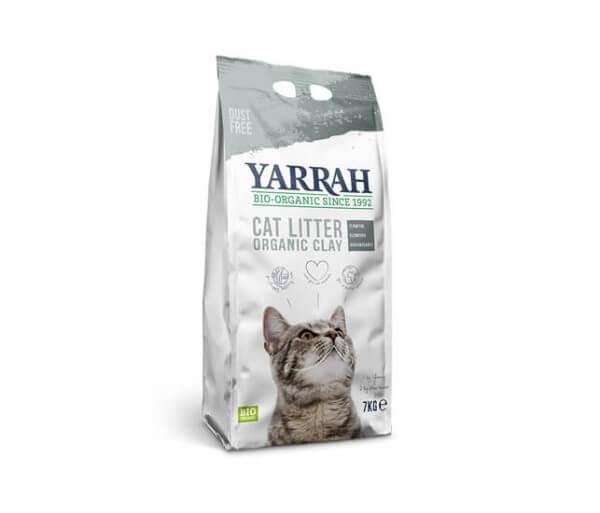 Yarrah Katzen-Klumpstreu 7 kg aus 100 % Bio-Lehm kaufen, biologisch abbaubar, kompostierbar