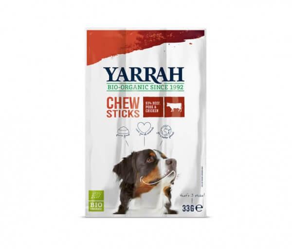 Yarrah Fleisch-Kaustangen für Hunde (Kausticks)