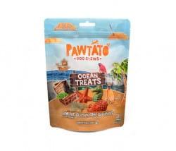 Benevo Pawtato Ocean Treats (Süßkartoffel, Erbse und Seetang in verschiedenen Formen und Farben)
