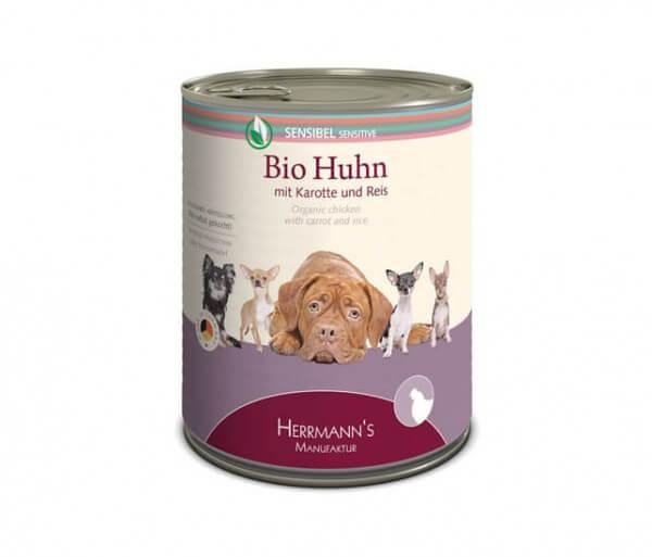 Herrmanns Huhn mit Karotte und Reis