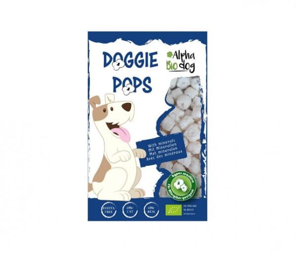 Alpha Bio dog Hundesnack Doggie Pops mit Leber und Mineralien