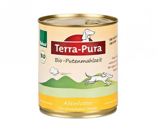 Hundefutter ohne Massentierhaltung - Terra-Pura Putenmahlzeit 400g