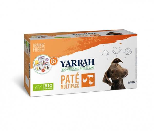 Yarrah Multi-Pack Pate (Hund)