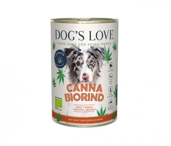 Dog's Love Canna Rind mit Hanf & Zucchini